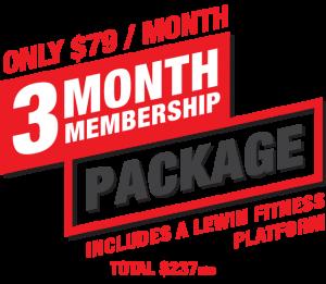 3Month-Membership-Package