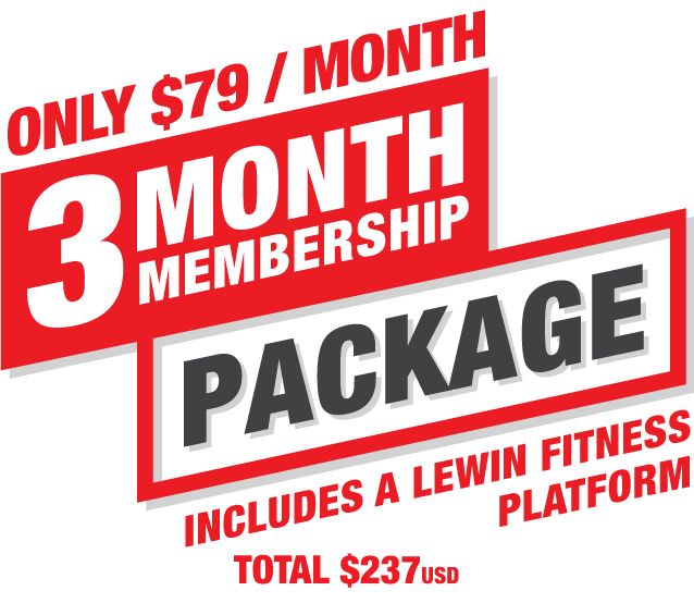 3Month-Membership-Package